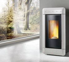 Stufa a pellet - VIDEO BLACK 9 Kw
