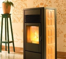 Stufa a pellet - STAR AIR 8 Kw